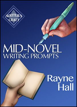 Book Cover: MID-NOVEL WRITING PROMPTS
