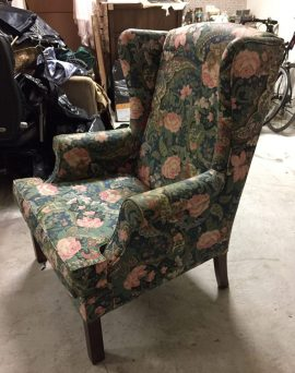 Singapore Wing Back Chair