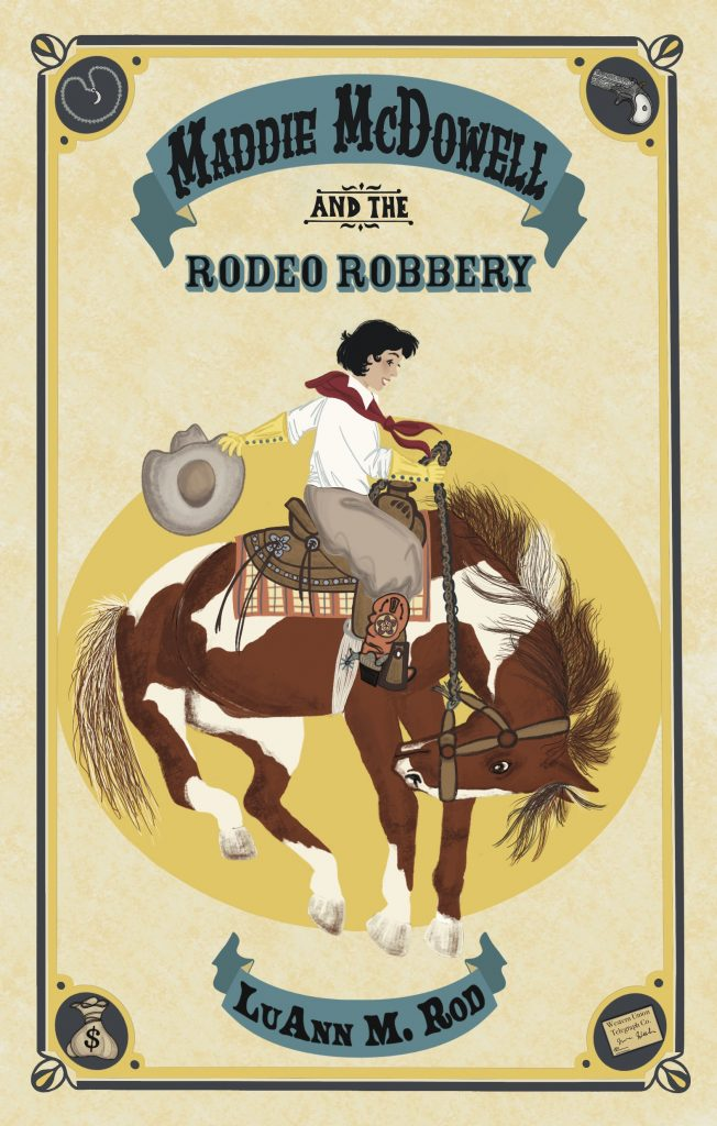 Button to buy Maddie McDowell and the Rodeo Robbery